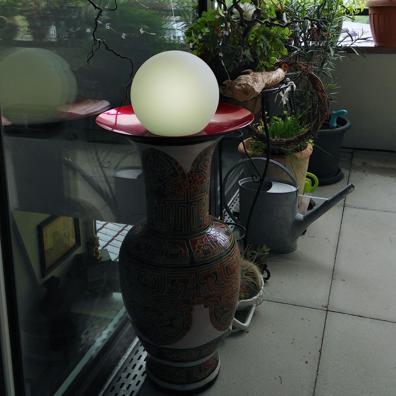 Dekorative Lichtakzente mit LED Kugellampe
