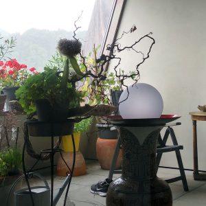 LED Leuchtkugel für Terrasse und Balkon