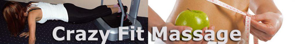 Crazy Fit Massage, Vibrationsplatte von @tec, arcotec