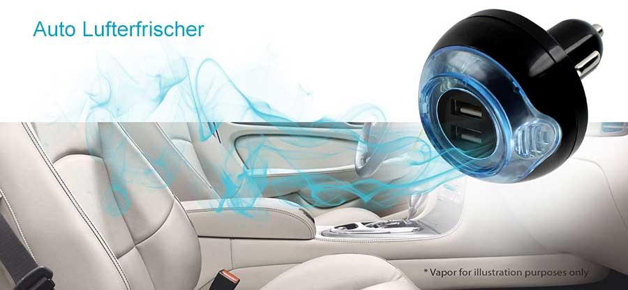 elektrische Auto Lufterfischer, USB Charger