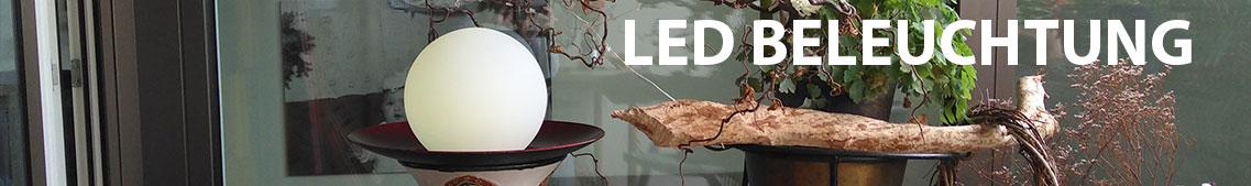 LED Beleuchtung, Gartenbeleuchtung, Hausbeleuchtung bei arcotec