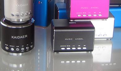 Mini Lautsprecher, Kaidaer und Music Angel