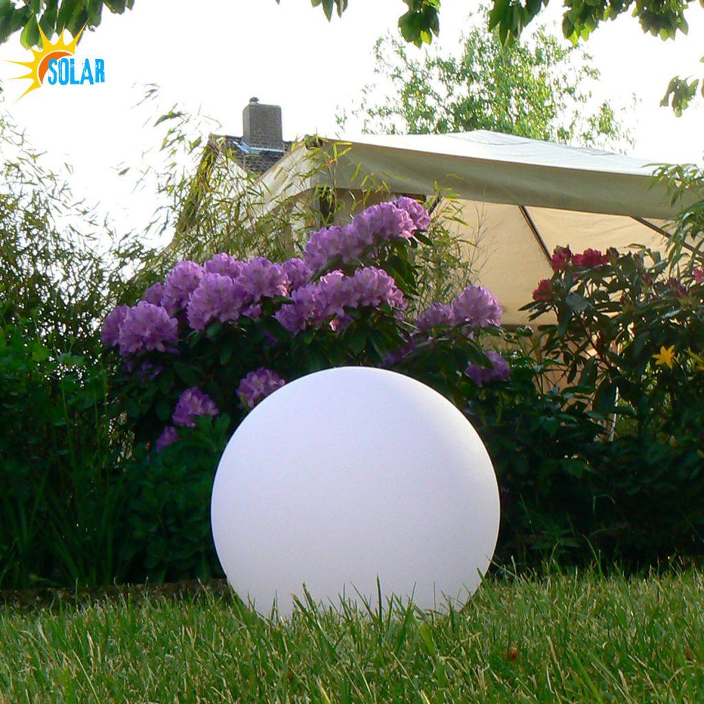 30cm LED Solar-Kugelleuchte, Kugellampe
