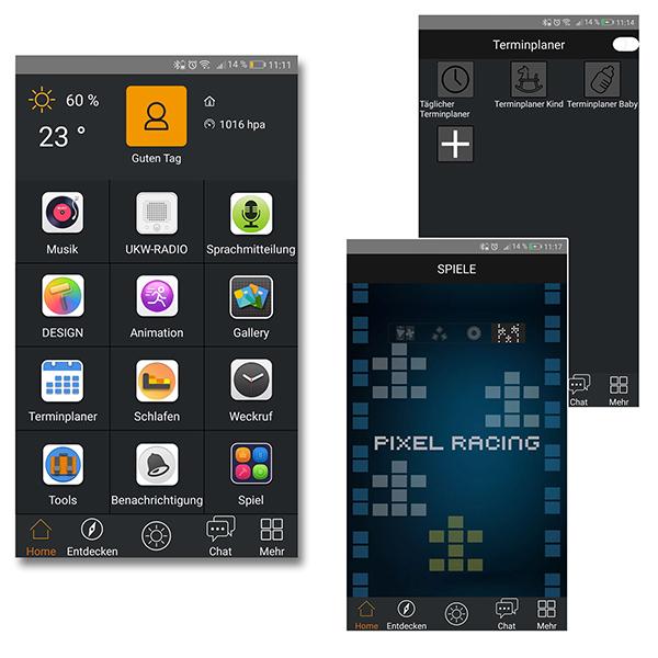 Divoom Timebox, Bluetooth Lautsprecher mit Spielen