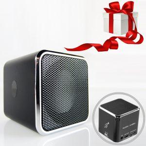 Musik Ange - Mini Lautsprecher mit Radio, Gadget für Teenager und Jugendliche