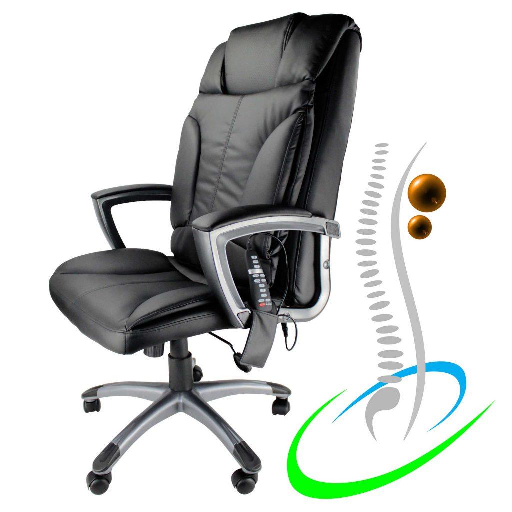 Tiga - Chefsessel mit Shiatsumassage, Bürostuhl, Schreibtischstuhl
