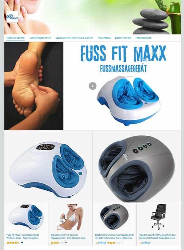 @tec Markenwelt auf Amazon, Massagegeräte, Fussmassagegeräte