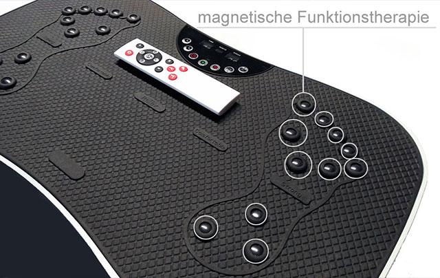 Vibrationsplatten bei arcotec, Vitaplate mini mit magnetischer Therapie